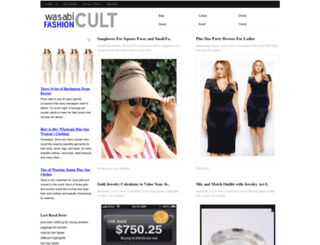 wasabifashioncult.com screenshot