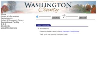 washcounty.info screenshot
