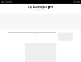 washingtonpost.org screenshot