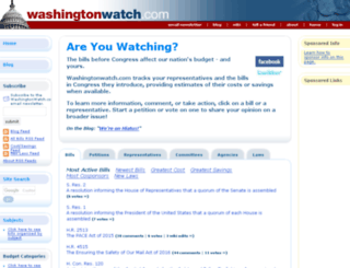 washingtonwatch.com screenshot