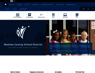 washoeschools.net screenshot