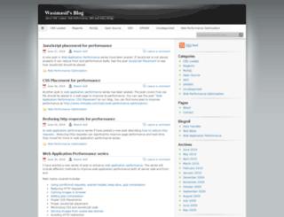 wasimasif.wordpress.com screenshot