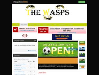 wasps.bramptonnorthsoccer.com screenshot