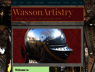 wassonartistry.com screenshot
