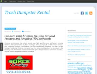wastemanagementdumpster.blog.com screenshot