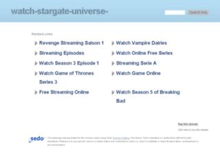 watch-stargate-universe-streaming.com screenshot