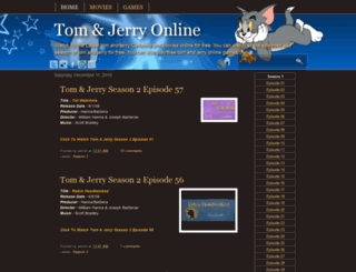 watch-tom-and-jerry-online.blogspot.com screenshot