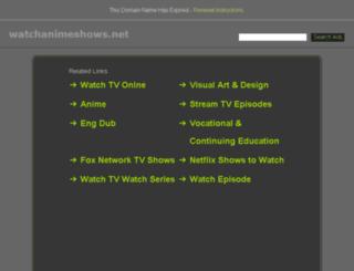 watchanimeshows.net screenshot