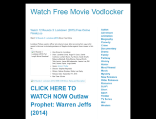 watchfreemovievodlocker.blogspot.com screenshot