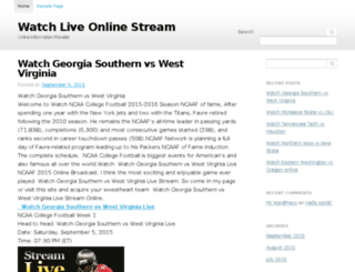 watchliveonlinestream.com screenshot
