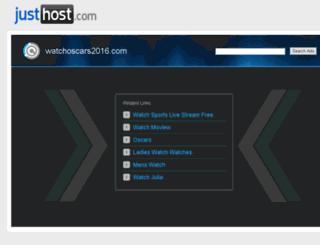 watchoscars2016.com screenshot