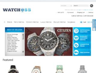 watchoss.com screenshot