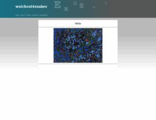 watchout4snakes.com screenshot