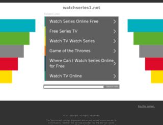 watchseries1.net screenshot