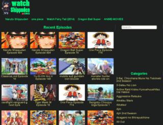 watchshippuden.org screenshot