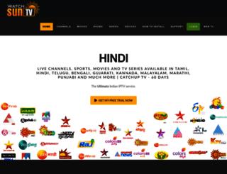 watchsuntv.com screenshot