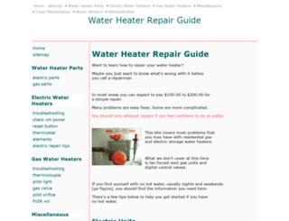 water-heater-repair-guide.com screenshot