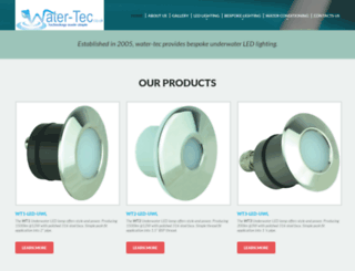 water-tec.co.uk screenshot