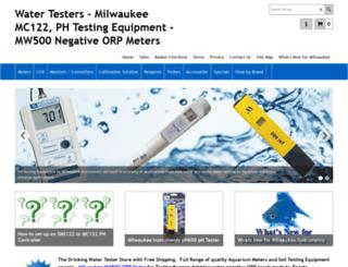water-testers.com screenshot