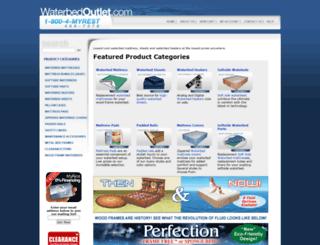 waterbedoutlet.com screenshot