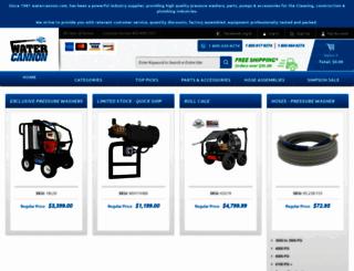 watercannon.com screenshot