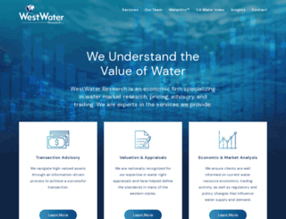 waterexchange.com screenshot
