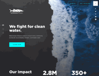 waterkeeper.org screenshot