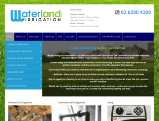 waterlandptyltd.com.au screenshot
