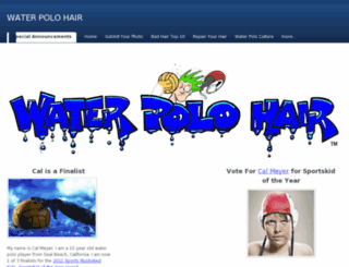 waterpolohair.com screenshot