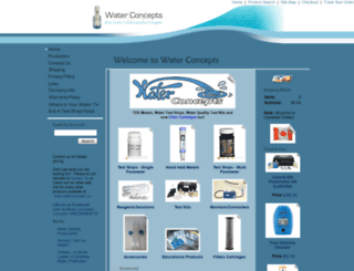 waterqualitytestequipment.com screenshot