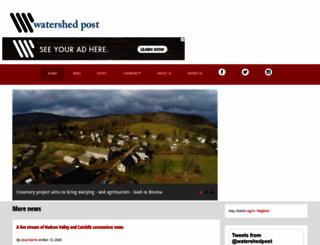 watershedpost.com screenshot