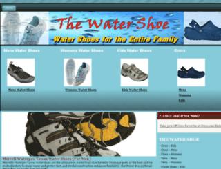 watershoe.org screenshot