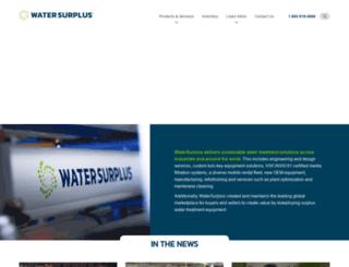 watersurplus.com screenshot