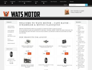 wats-motor.com screenshot