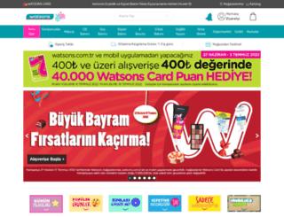 watsons.com.tr screenshot