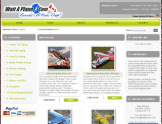 wattaplane.com screenshot