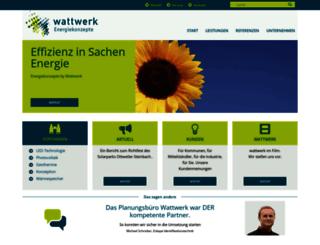 wattwerk.eu screenshot