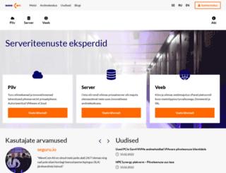 wavecom.ee screenshot