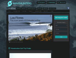 wavehunters.com screenshot