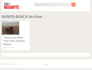 waves-beach.dailymegabyte.com screenshot