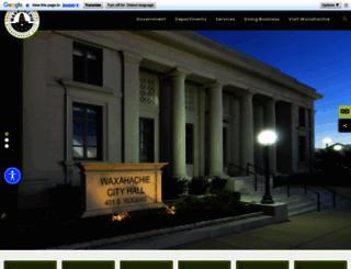 waxahachie.com screenshot
