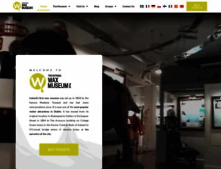 waxmuseumplus.ie screenshot