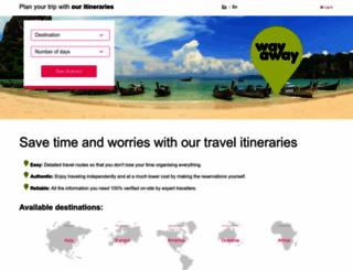 way-away.com screenshot