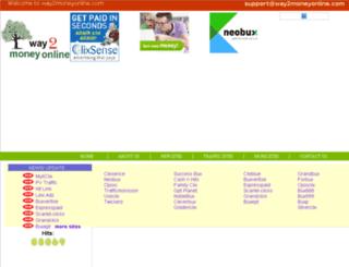 way2moneyonline.com screenshot