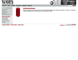 wayes.com screenshot