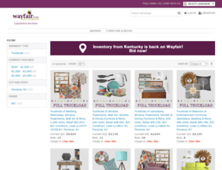 wayfair.bstocksolutions.com screenshot
