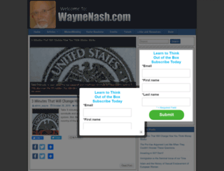 waynenash.com screenshot