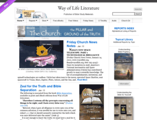 wayoflife.org screenshot