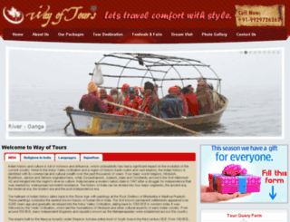 wayoftours.com screenshot