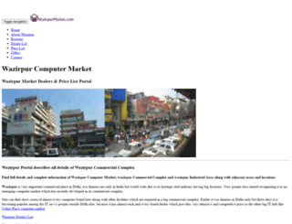 wazirpurmarket.com screenshot